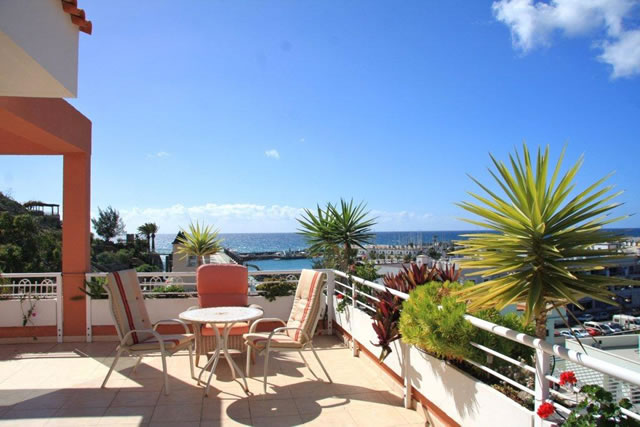 Penthouse Paraiso Mogan  - Luxury 2 bedroomed  -  fabulous views - Terrace