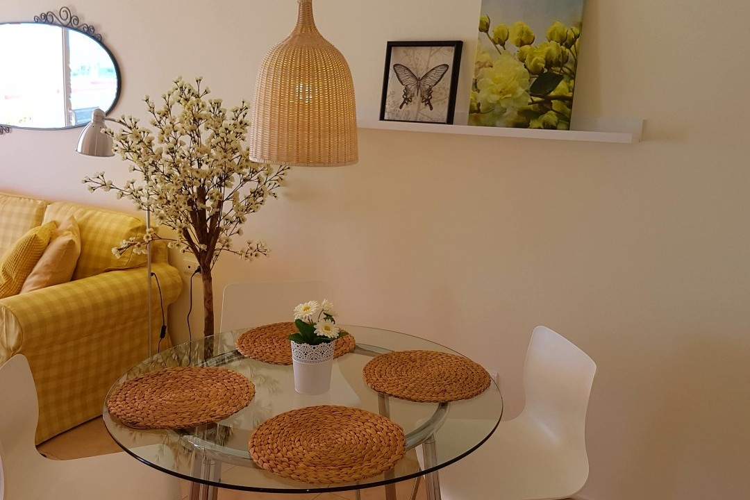Paraiso 1 - 1 Bed Apartment - Calle La Puntilla - Indoor Dining Area