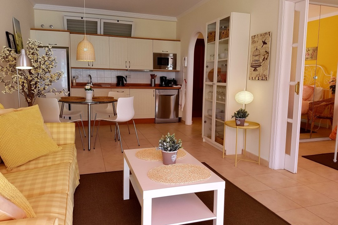 Paraiso 1 - 1 Bed Apartment - Calle La Puntilla - Kitchen and Lounge Area