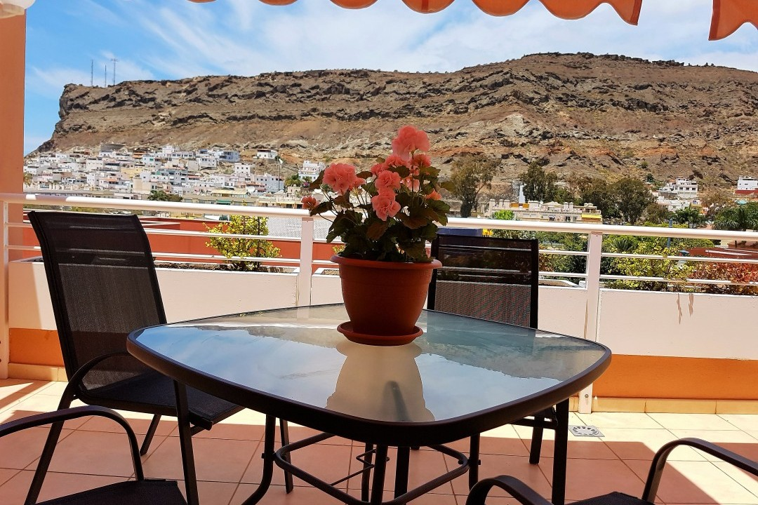 Paraiso 1 - 1 Bed Apartment - Calle La Puntilla - Terrace View