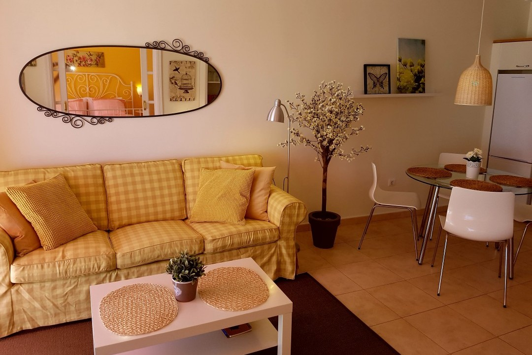 Paraiso 1 - 1 Bed Apartment - Calle La Puntilla - Living  Area