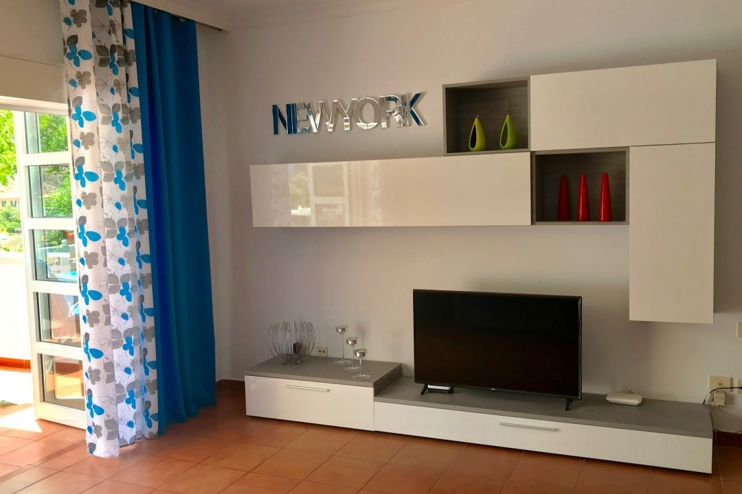 Mogan  El  Marinero -  1  bedroom + 2 bathrooms. - TV Entertainment area
