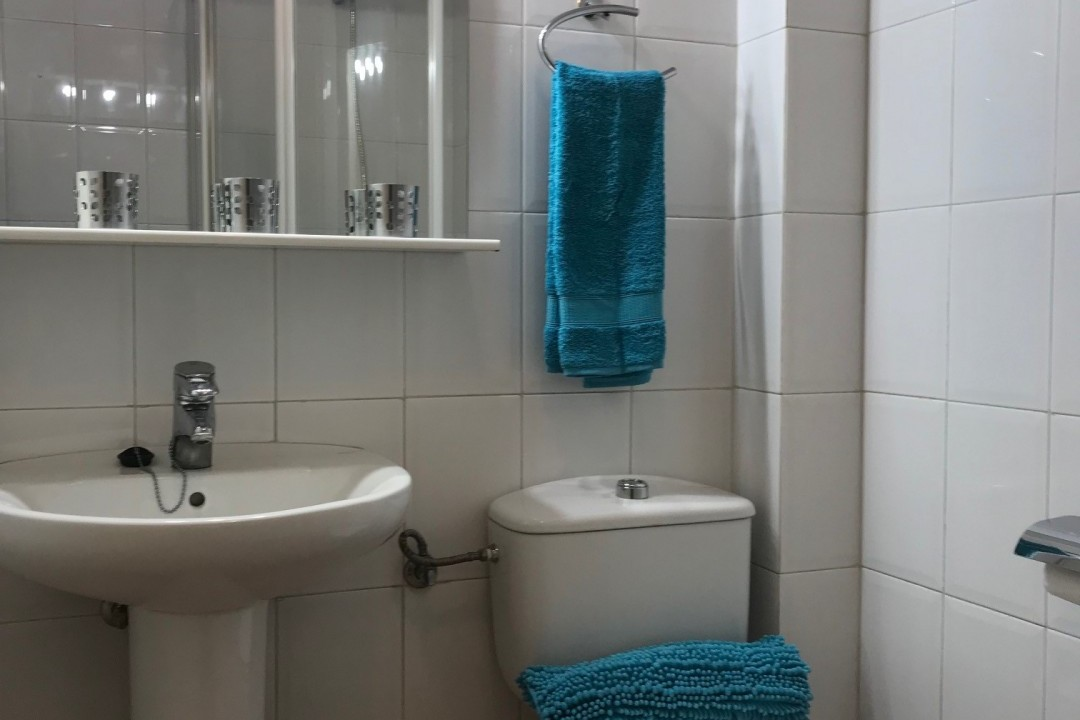 Mogan  El  Marinero -  1  bedroom + 2 bathrooms. - Guest Bathroom
