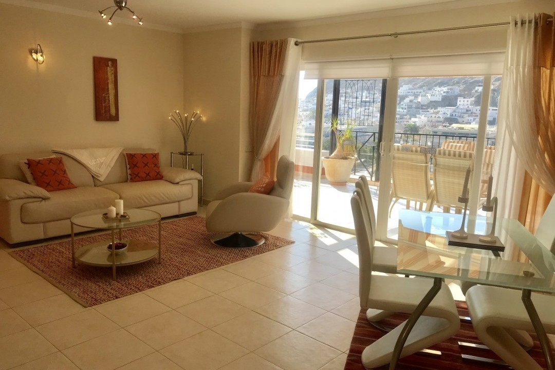 Penthouse Paraiso Mogan  - Luxury 2 bedroomed  -  fabulous views - Comfortable lounge