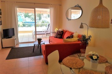 Paraiso 2 - 1 Bed Apartment - Heated Swimming Pool - Living Area / View to Terrace