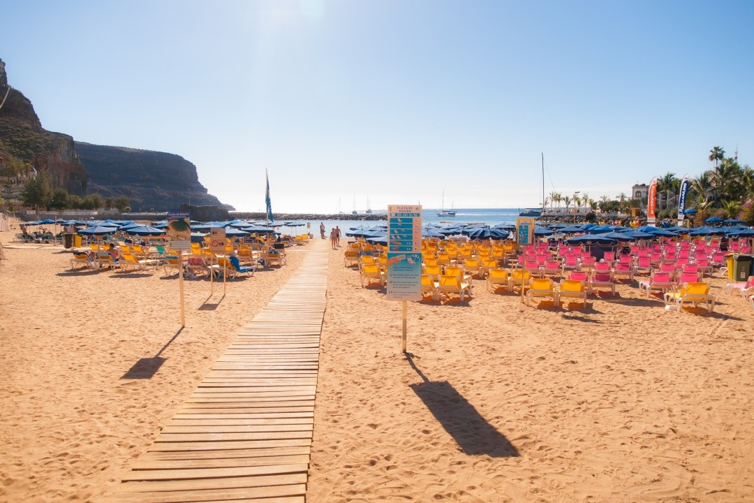 Gran Canaria Beaches - Beach Playa de Mogan